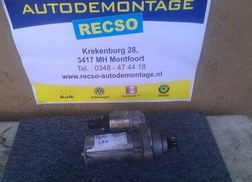 Gebruikte Startmotor 0AM911023K T TX CAX 1.4 TSI Golf A3 Jetta