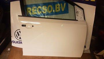 VW UP 5 drs Deur portier Rechts voor Wit LC9A