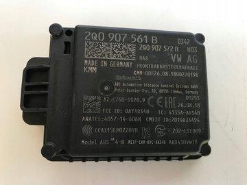 VW POLO 2G Tiguan AW1 Terraco ACC Radar Sensor 2Q0907561B