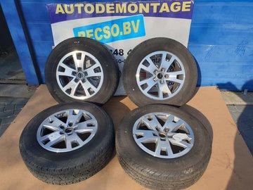 VW T5 T6 Amarok Velgen Zomerset Conti 245/65R17 2H0601025AF