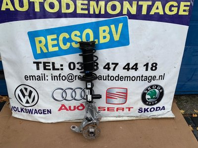 VW Golf 7 elektrische veerpoot fusee rechts 5Q0413031FK