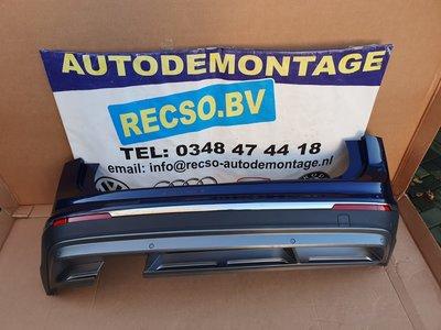 Tiguan Achterbumper Bumper Atlantic Blue Metallic LC5B