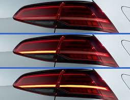 Golf 7 R Facelift Achterlichten LED Dynamische NIEUW inbouw