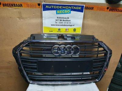 Audi A3 8V Facelift voor Grill orgineel 8V3853651AA
