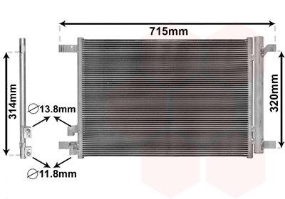 Polo 2G Condensor 5Q0816411AJ 5Q0816411N