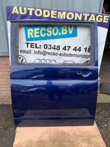 VW T5 Transporter schuifdeur Rechts Blauw
