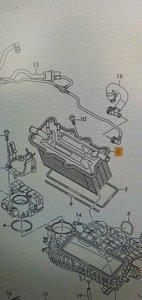 Laadluchtkoeler 04C145749A Nieuw Origineel