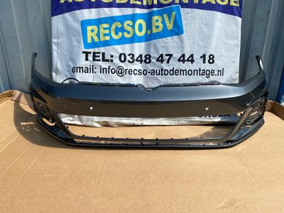 VW Golf 7,5 Voorbumper 4x PDC facelift LR7H