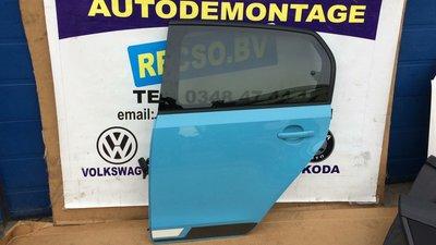 VW UP Deur portier Links achter Nette Blauw
