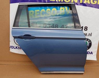 VW Passat B8 Variant 2015 Portier Rechts Achter deur LB5J