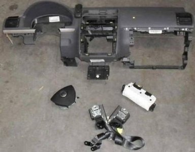 airbagset VW Touran 1T 2008+ airbags airbag compleet set