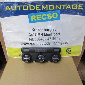 Caddy Jetta Bedieningspaneel Clima verwarming 1K0907044CF CT