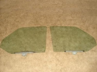 T4 Transporter Ruit raam groen getint R L