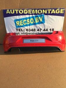 VW polo 2G GTI Achterbumper Rood LP3G 6XPDC