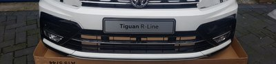 VW Tiguan 5NA R Line voorbumper 6x PDC LC9A compleet