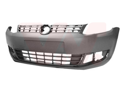 VW Caddy 4 2011+ voorbumper bumper nieuw kunststof zwart