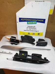 Audi A6 4G dashboardlijst met luchtrooster 4G1820951
